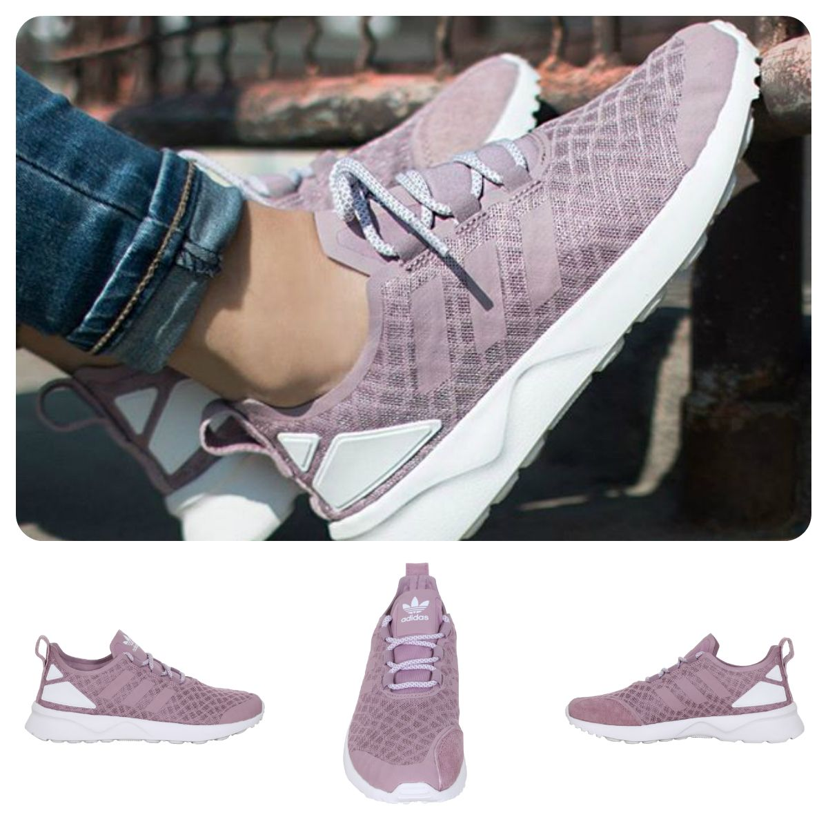 adidas dames zx flux adv verve sneakers