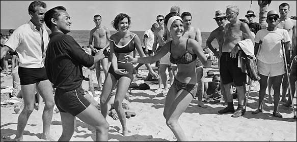 In Pictures Spring Break And Vintage On Pinterest: The Innocent Birth Of The Spring Bacchanal