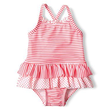 2b78e64ca Joe Fresh Striped Baby Swimsuit | JCPenney | CLOTHES FOR KIDS | Baby ...