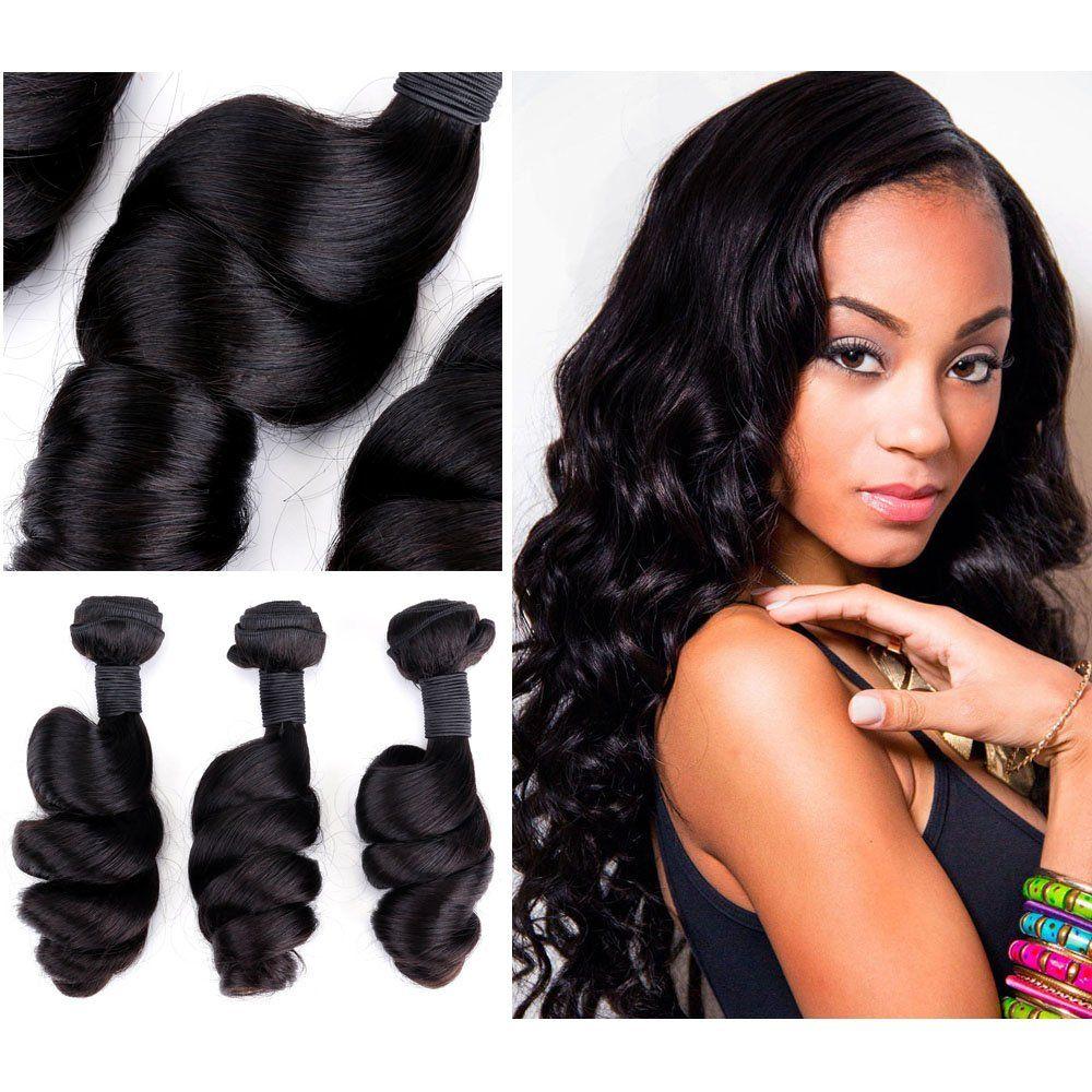 Humannatural Lwe Hair Extensions Humam Hair Brazilian Virgin Hair 3