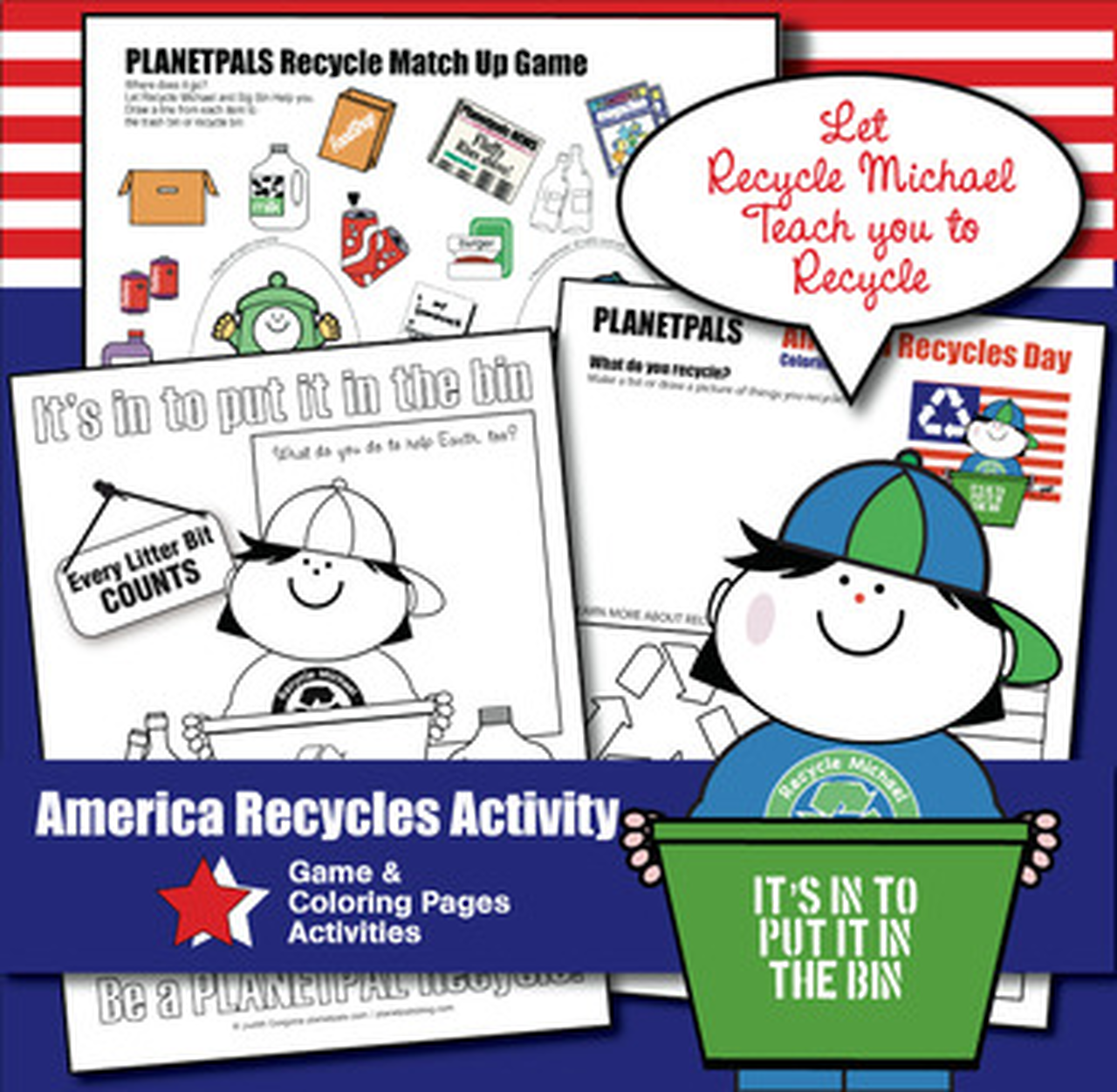 Planetpals Patriotic Holiday Day Activity Coloring Amp Game