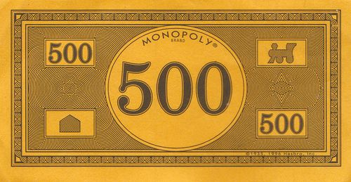 monopoly money new design 500 by eli the bearded via flickr