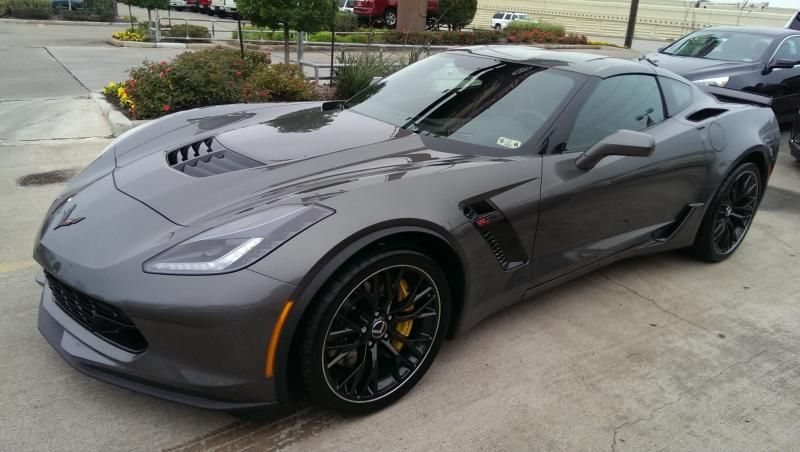 Fs 2015 Z06 6mt 1lz Shark Grey 50 Miles Brand New 80 000 Houston