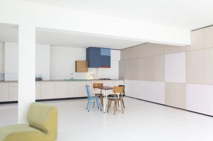 Werkplek Keuken Inrichten : Perfecte combinatie van woonkamer werkplek en keuken keuken
