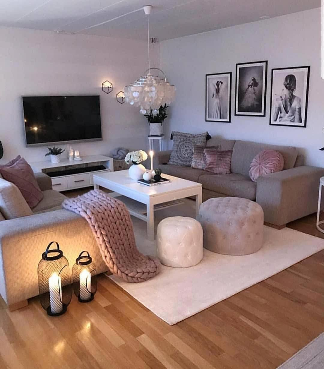 40 Most Beautiful Living Room Ideas 2021 Hairstylesofwomens Com Apartment Living Room Design Brown Living Room Small Apartment Living Room
