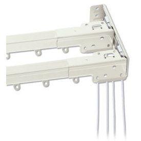 Graber Heavy Duty Double Traverse Rod Custom Drapes Interior