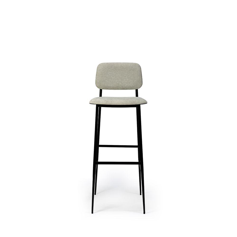 Dc Bar Stool Light Grey Ethnicraft Ethnicraft Bar Stools Contemporary Furniture