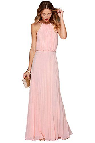 Rosa kleid lang amazon