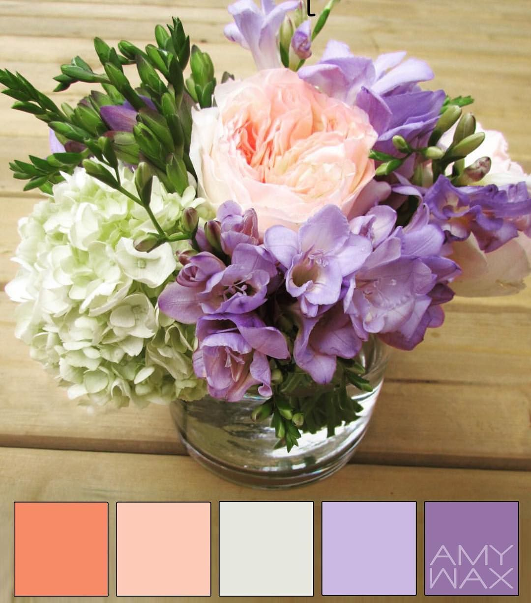 Who doesn't enjoy a little #color inspiration from time to time. Just sharing some colors to brighten your day. I know I can't wait for Spring to be here; until then I guess these fresh flowers will have to do :)