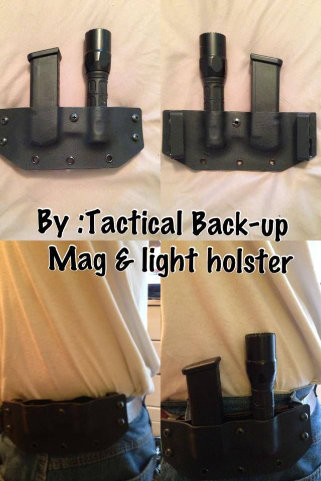 Mag holster and flashlight holster…   IWB Holsters and OWB