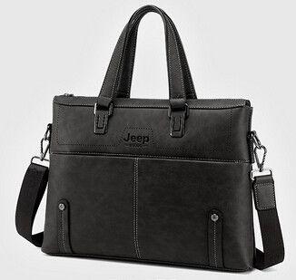 New Arrival 2016 Fashion Men bag shoulder bag Jeep cowhide business travel men 's handbag Messenger bag computer briefcase TL329