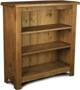 pretty nice 486ba 200f1 NEW SOLID WOODEN BOOKCASE bookshelves shelves chunky rustic ...