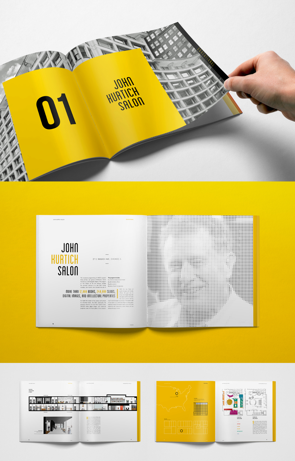 Square Brochure Projects Photos Videos Logos Illustrations And Branding On Behance Booklet Design Layout Booklet Design Brochure Design Layouts
