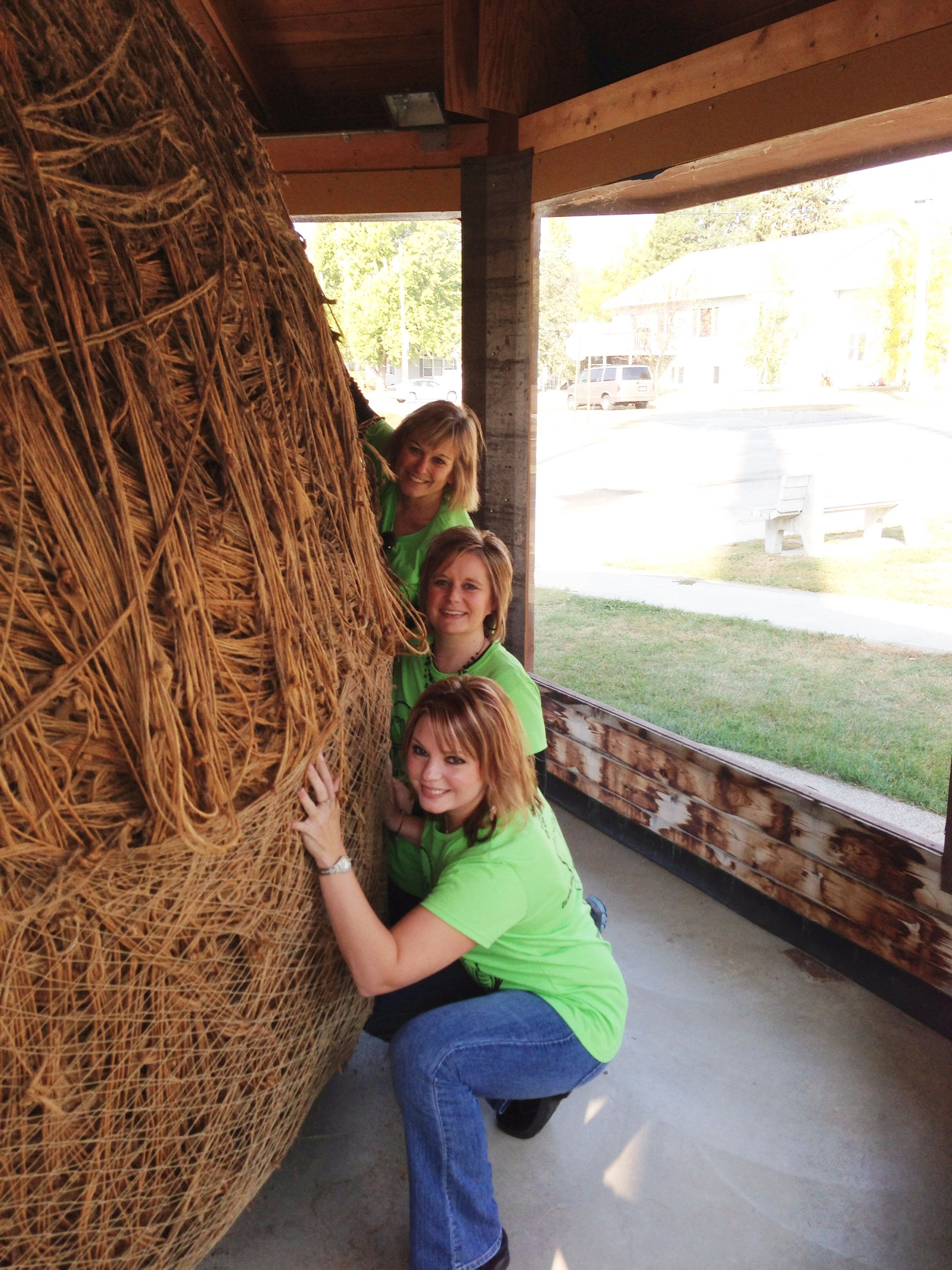 Biggest Ball of Twine rolled by one man! Darwin, MN made famous by Weird Al