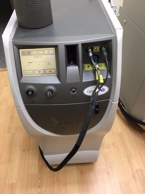 Candela Gentleyag Laser Hair Removal Skin Tightening Laser