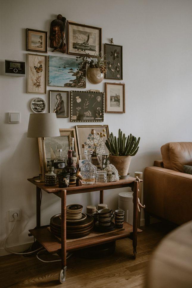 Vintage Deko: Bohemian Bilderwand