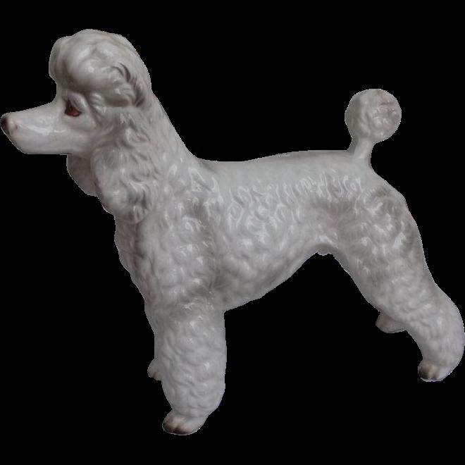 Shafford Japan Poodle Figurine Circa 1960 S Standard Poodle Poodle Vintage Drawing Dog Art