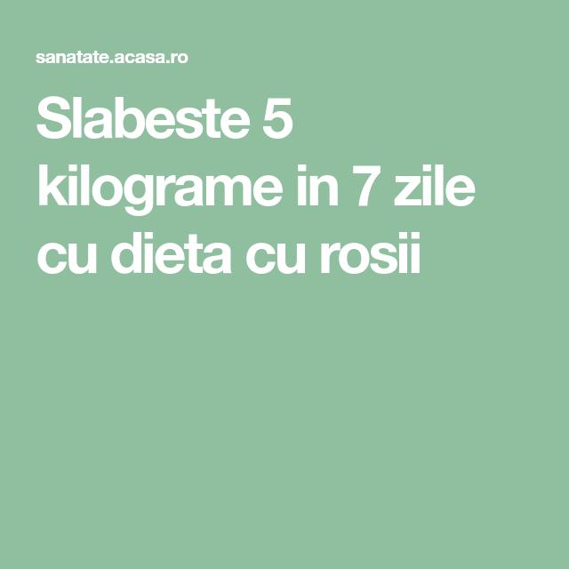 dieta 7 zile cu rosii ceea ce putem mânca pentru pierderea în greutate