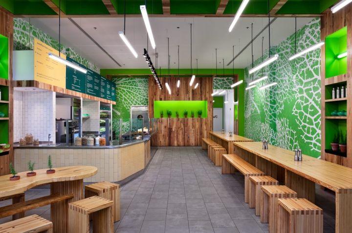 sweetgreen ecoeateriy by Core Architecture Bethesda Maryland