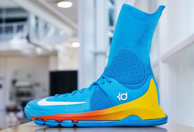 finest selection 99ac8 c940b Kevin Durant's Nike KD 8 Elite
