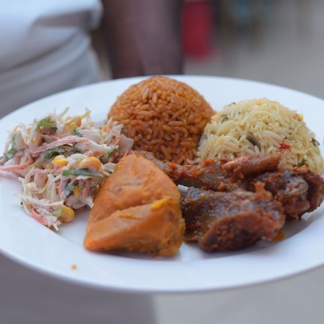 Nigerian Wedding Food: #Item 7!pic Via @culinarywokcatering #food #item7 #party