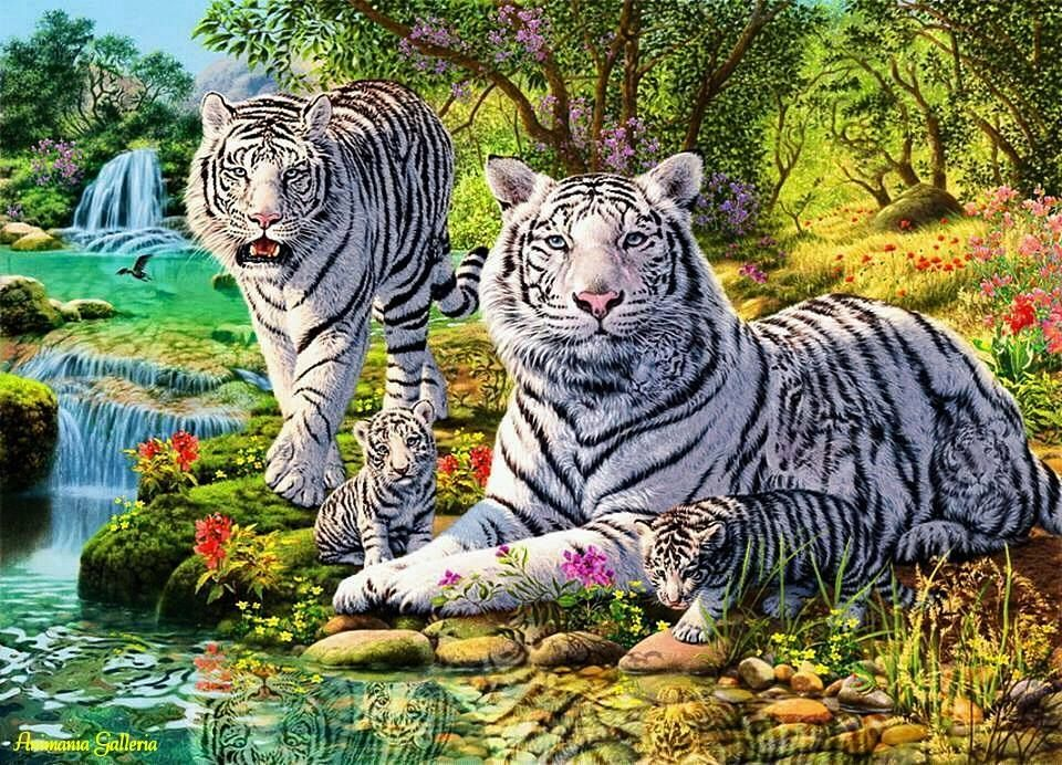 How many tigers can you find? #Riddle #Quiz | Short riddles | Cross