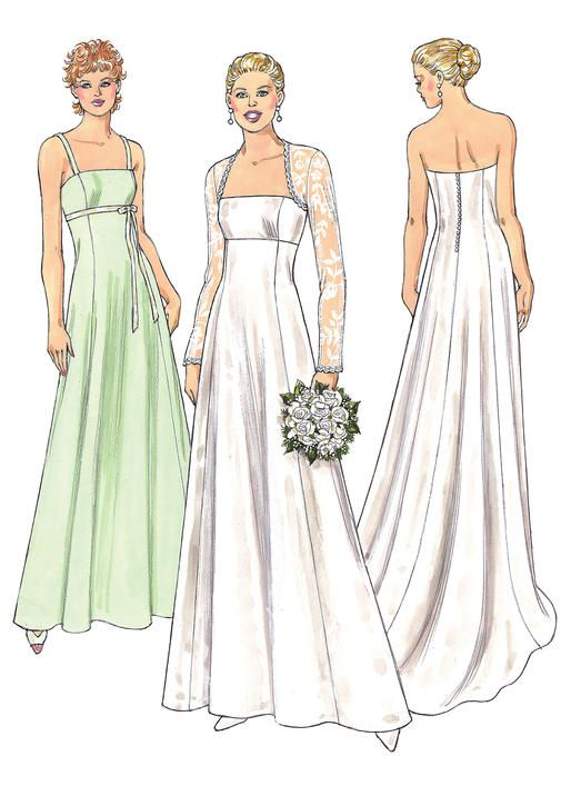K3400 | Kwik Sew Patterns | wedding | Pinterest