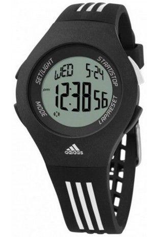 Adidas Black Performance cronógrafo Unisex Furano Alarm Black Alarm Reloj cronógrafo dc70136 - allpoints.host