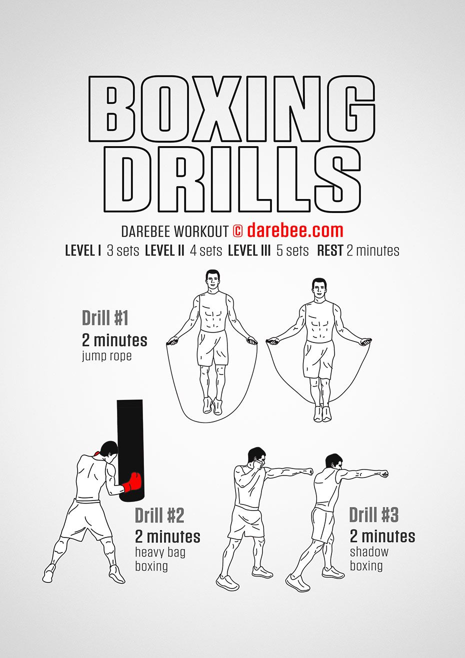 Boxing Drills, Boxing Workout