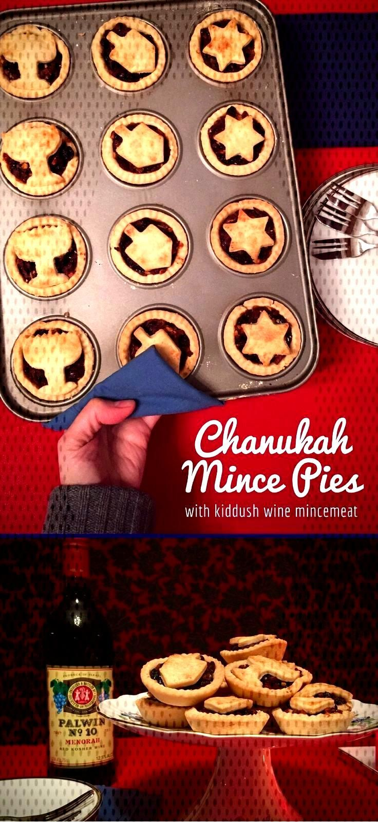 Youll rock Chanukah with fantastic last-minute kiddush wine mince pies! The quick amp easy filling