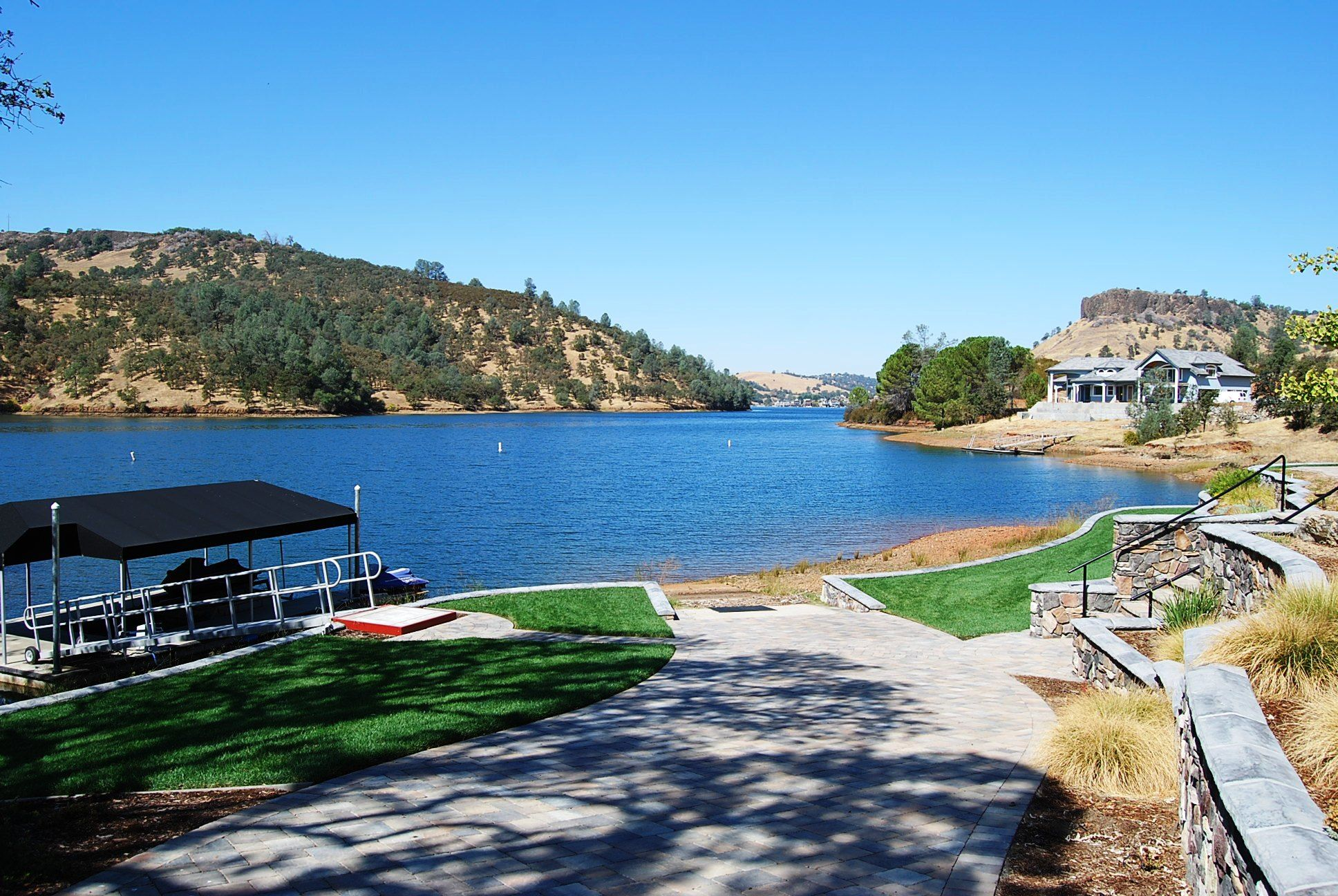 Lake tulloch camping pinterest lakes and vacation for Lake tulloch fishing