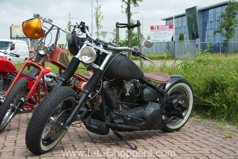 My Softail Bobber And Oldscool Chopper Daan Ll Choppers Vaderdag