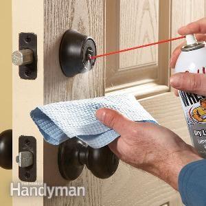 Fix Stuck Or Jammed Dead Bolts Pocket Door Repair Doors Door Handles