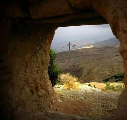 Pin By Patricia Martinez On God Is Good Jesus Is Alive Empty Tomb Jesus Resurrection