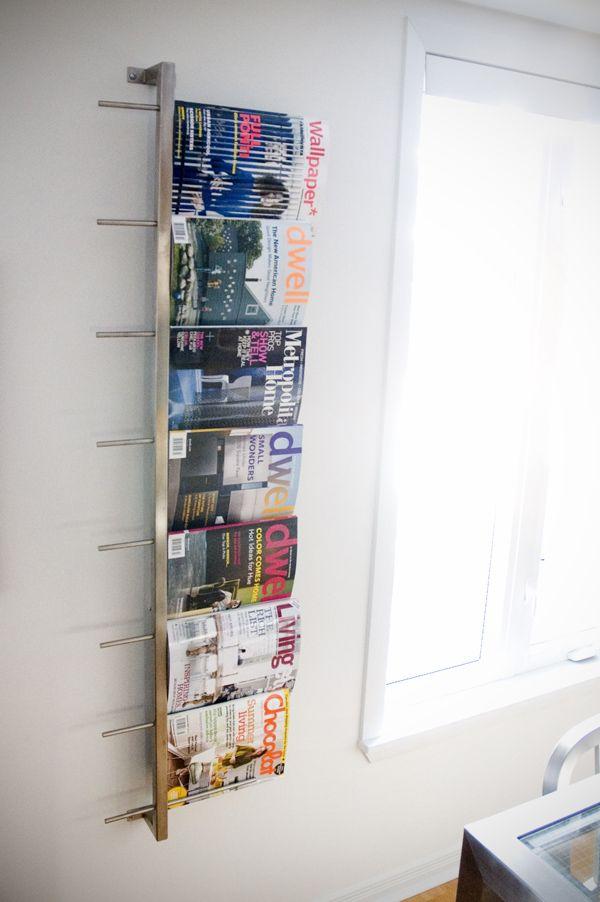 Gus Magazine Rack The Century House Madison Wi Modern Magazine Racks Magazine Rack Wall Diy Magazine Holder