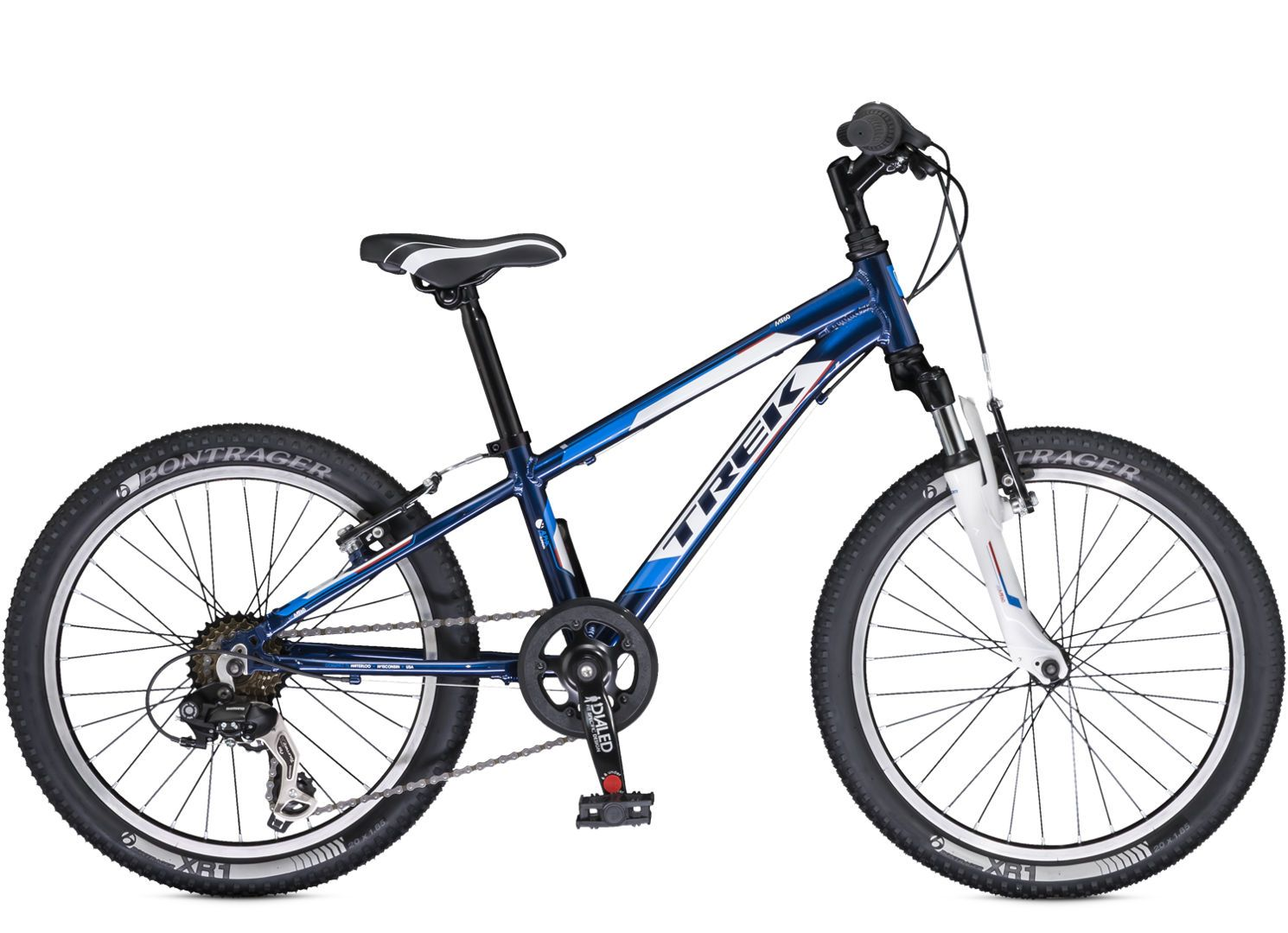 Sport Kids Mt 60 Boys Trek Kids Mountain Bikes Are The Real Deal With Light Frames Knobby Tires Quality Parts Trek Bicycle Kids Mountain Bikes Trek Bikes