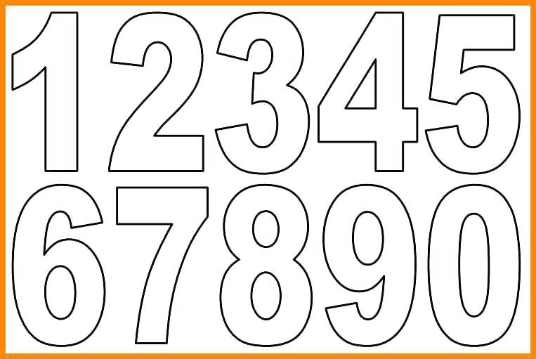 In Letters Numbers Bubble Sample Letter