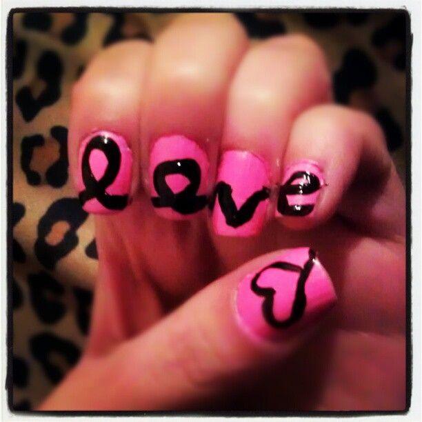 #love #nailart - @miss0erika- #webstagram