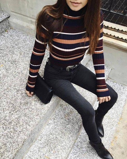 Find Out Where To Get The Sweater | Turtleneck outfit