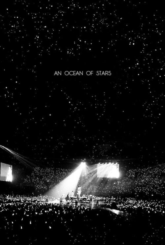 Exo Silver Ocean Kertas Dinding Konser Fotografi Pemandangan