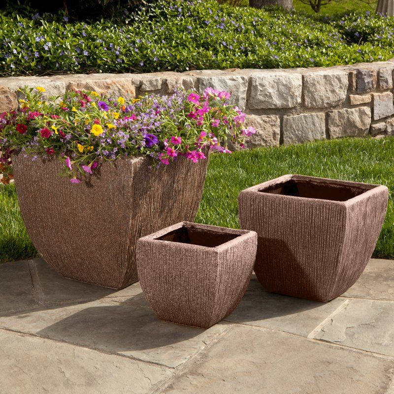 Have To Have It Alfresco Home Graffiato Square Planter 61
