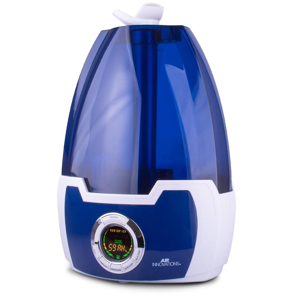 Air Innovations 1 6 Gal Cool Mist Digital Humidifier For Large Rooms Up To 500 Sq Ft Humid10 Blue Innovation Cool Stuff Mists