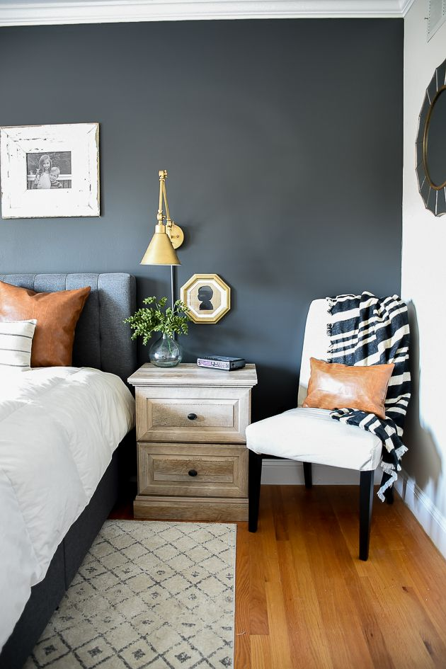 Dark And Moody Modern Farmhouse Bedroom Update In 2019