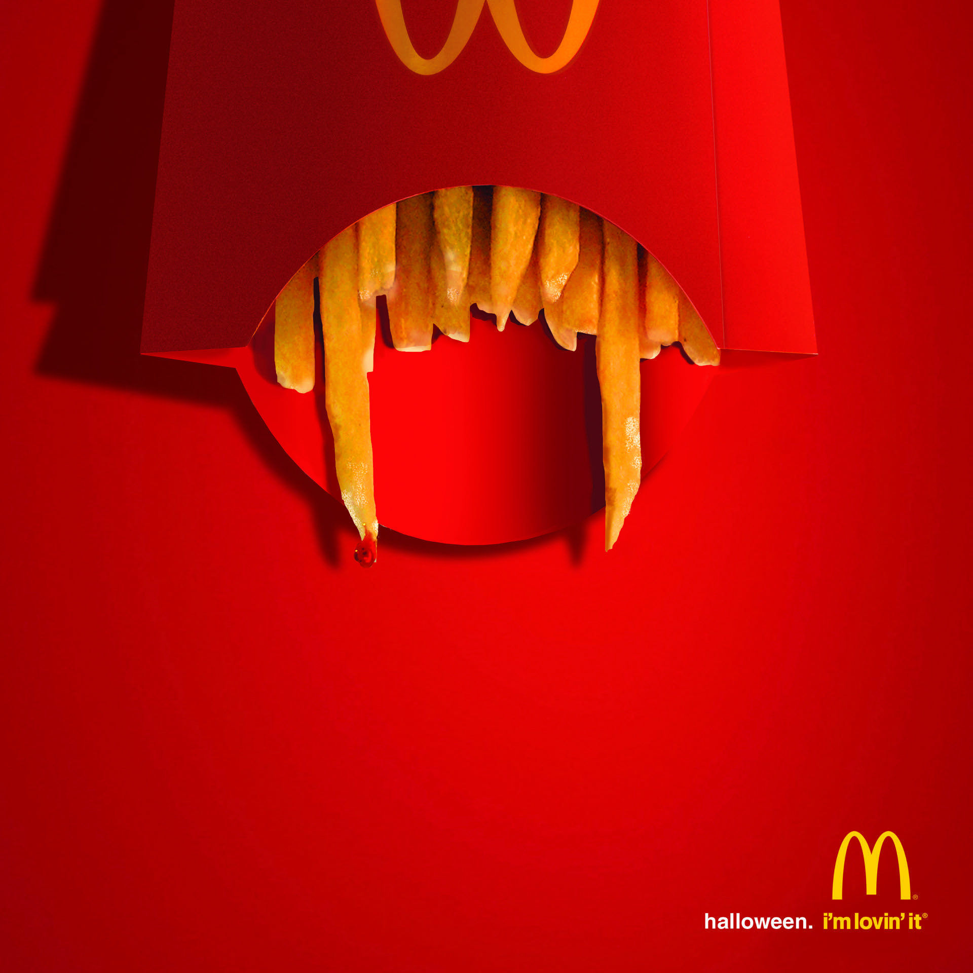 McDonald's: Fang Fries | Ads creative, Funny advertising, Creative advertising