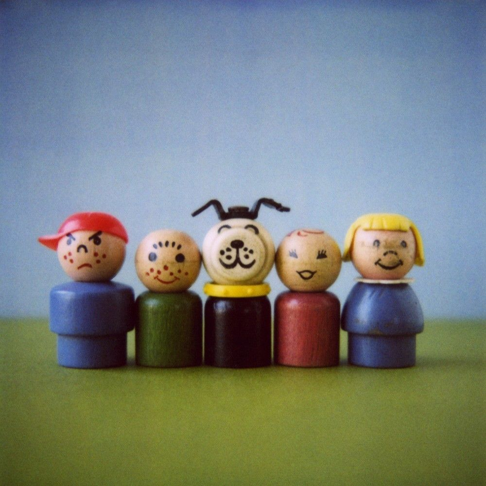 Pricing People: Original Fisher Price Little People--I Was The Red One