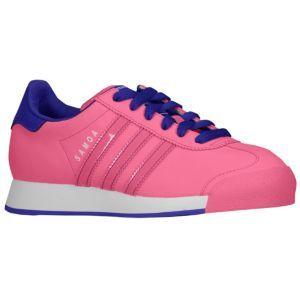 new concept e203c b4148 adidas Originals Samoa - Girls  Grade School - Ray Pink Ray Pink Blast  Purple