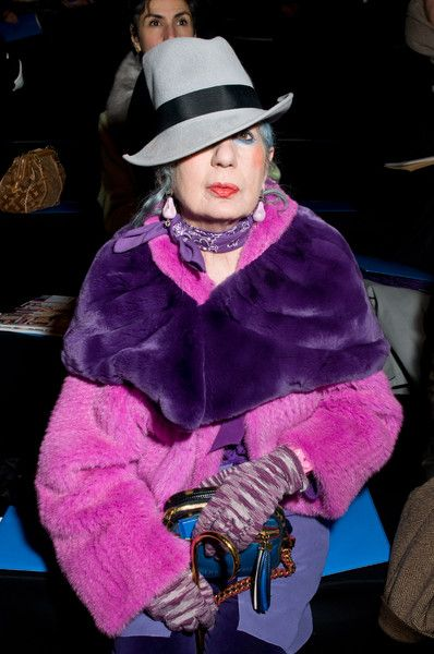 R.I.P. Anna Piaggi (81) – Take a look at her style | Team Peter