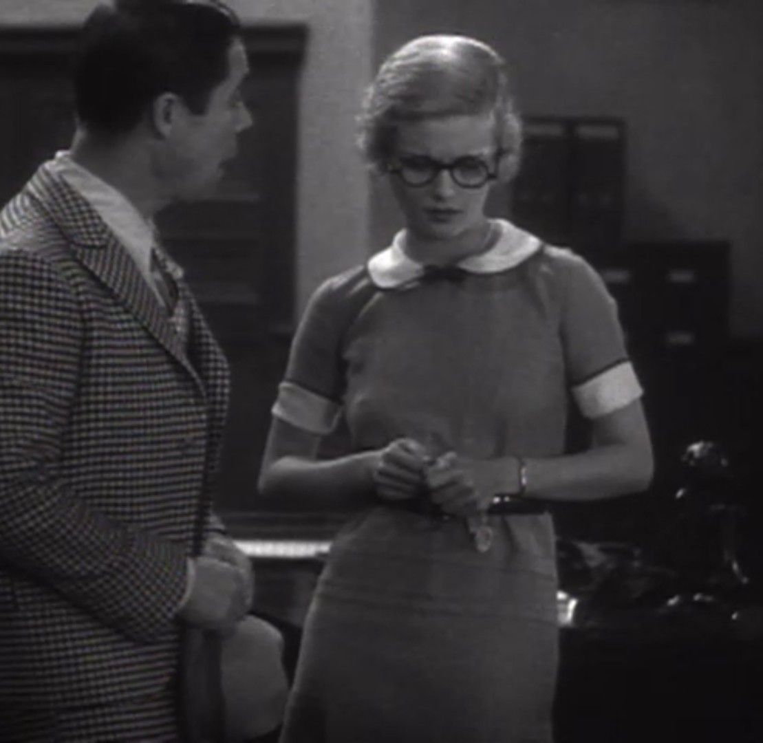 1d0307e682 Joan Bennett in Eleven Men and a Girl aka Maybe It s Love 1930 ...