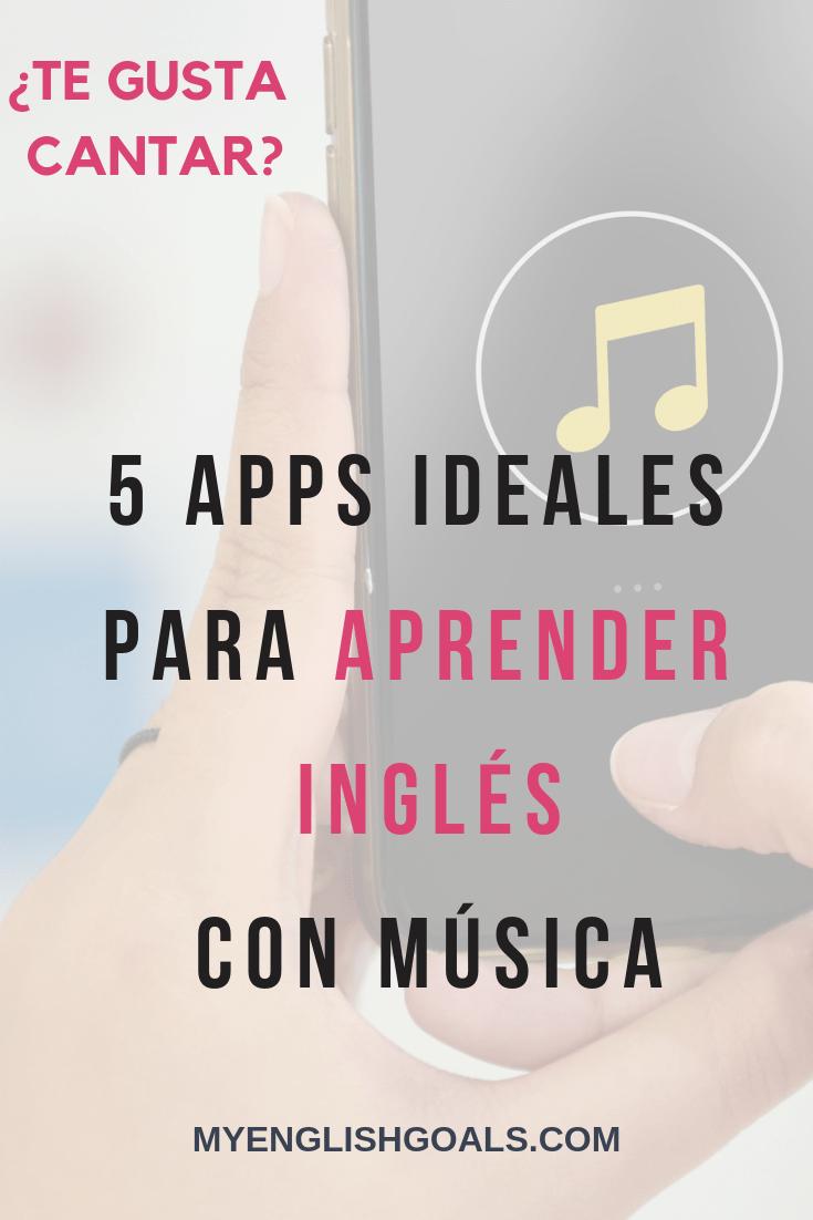 5 Apps Ideales Para Aprender Inglés Con Música My English Goals Aplicaciones Para Aprender Ingles App Para Aprender Ingles Aplicaciones Para Ingles