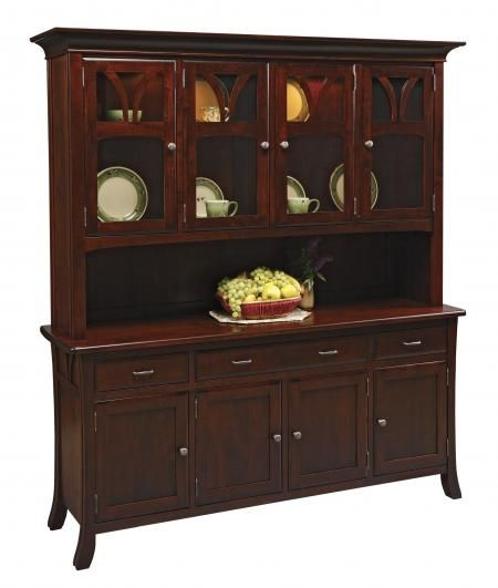 mission country furniture wh76 williamson hartford china hutch arts crafts mission